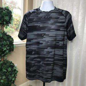 STARTER S/S Sport Shirt | Black/Grey Size XL